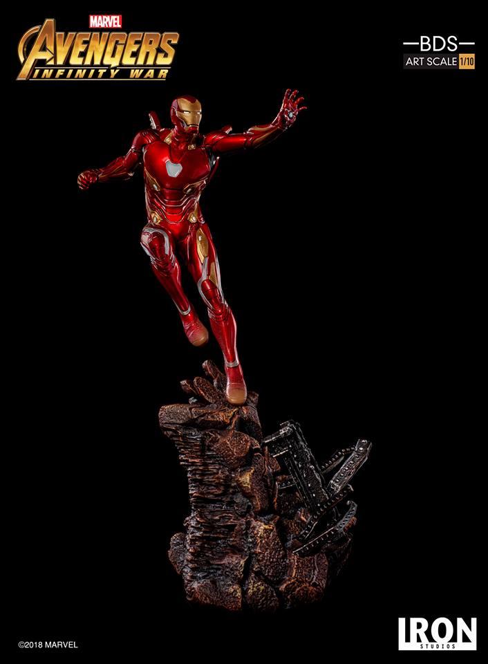 [Iron Studios] - Avengers: Infinity War - Mark XLVIII 1/10 39142010