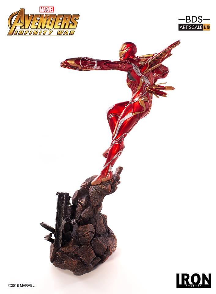 [Iron Studios] - Avengers: Infinity War - Mark XLVIII 1/10 39149910