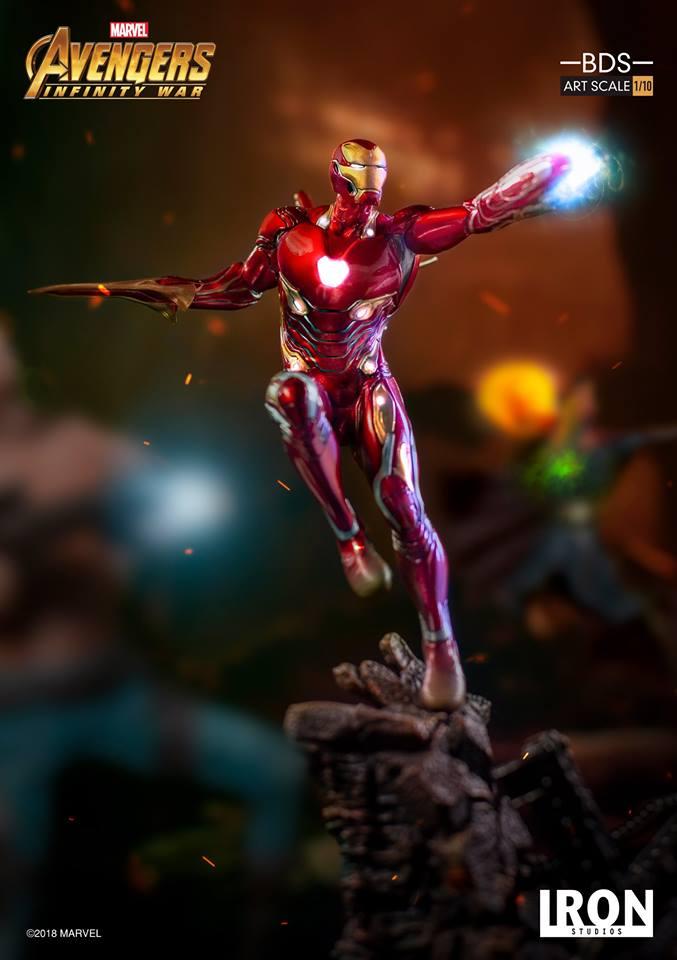 [Iron Studios] - Avengers: Infinity War - Mark XLVIII 1/10 39167110