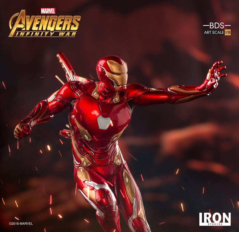[Iron Studios] - Avengers: Infinity War - Mark XLVIII 1/10 39208410
