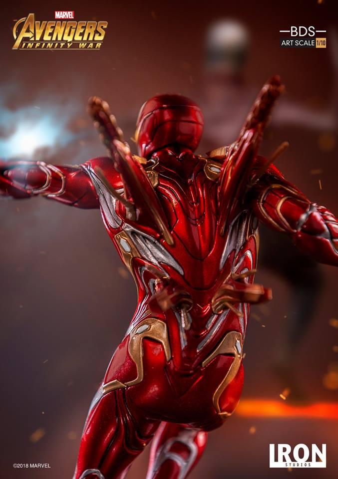 [Iron Studios] - Avengers: Infinity War - Mark XLVIII 1/10 39221310
