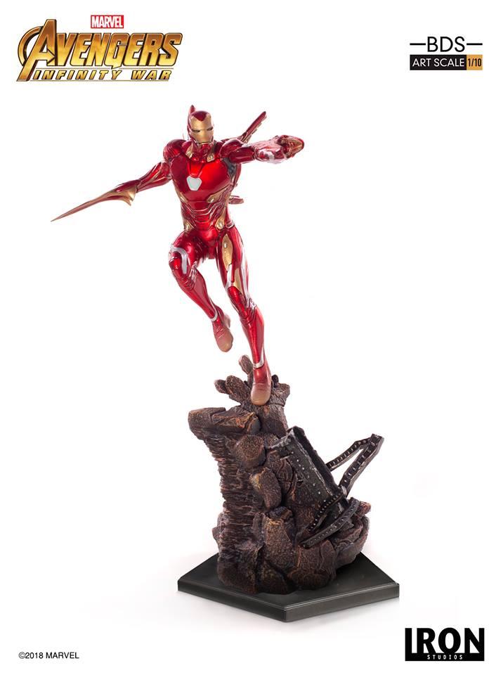 [Iron Studios] - Avengers: Infinity War - Mark XLVIII 1/10 39240110