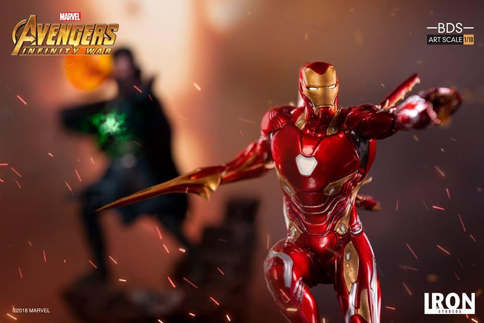 [Iron Studios] - Avengers: Infinity War - Mark XLVIII 1/10 39249510