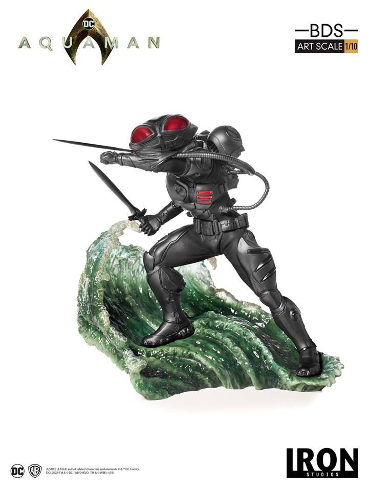 [Iron Studios] Aquaman -  Black Manta 1/10 40628710