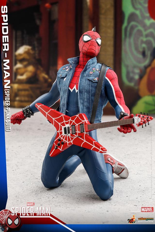 [Hot Toys] -Spider-Man Game- Spider-Punk Suit 1/6 40647310