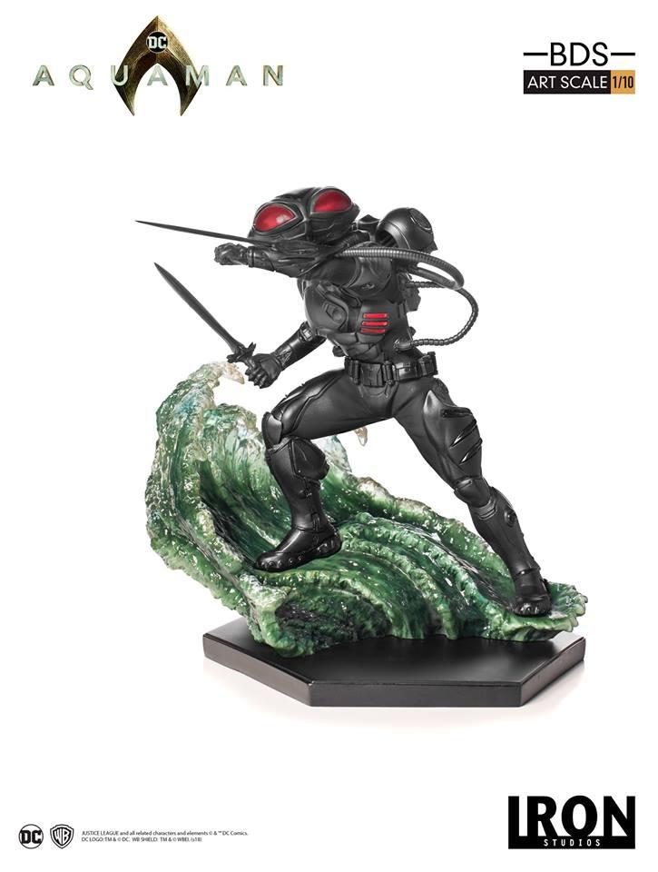 [Iron Studios] Aquaman -  Black Manta 1/10 40647510
