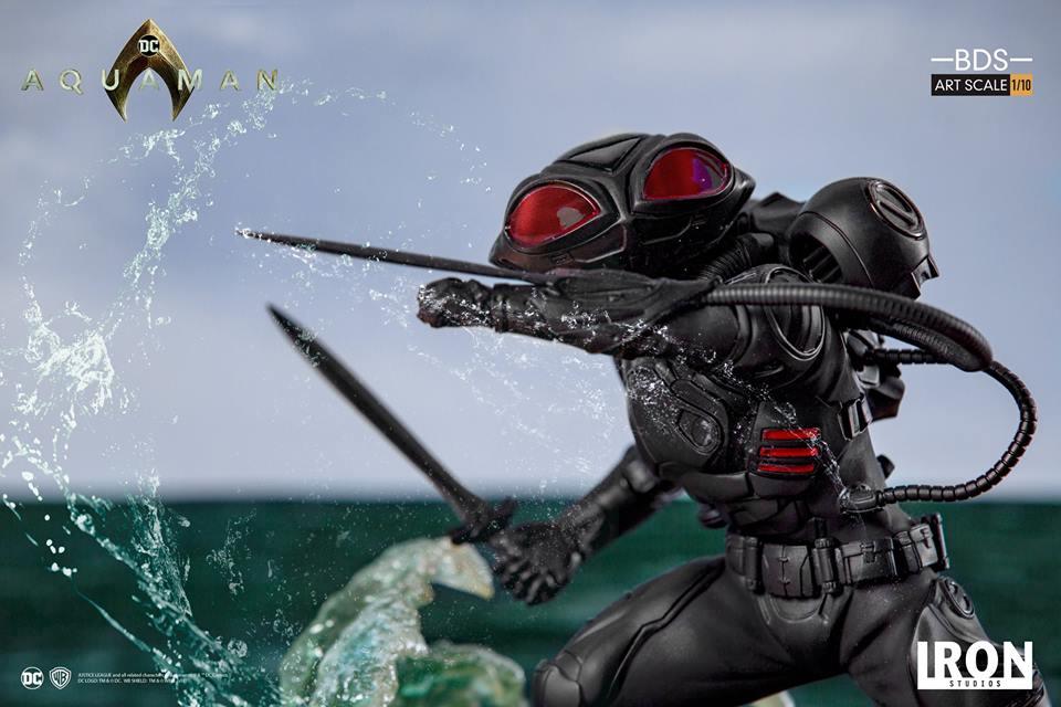 [Iron Studios] Aquaman -  Black Manta 1/10 40654310