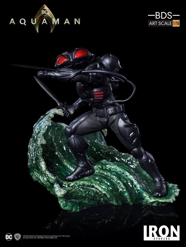 [Iron Studios] Aquaman -  Black Manta 1/10 40661110