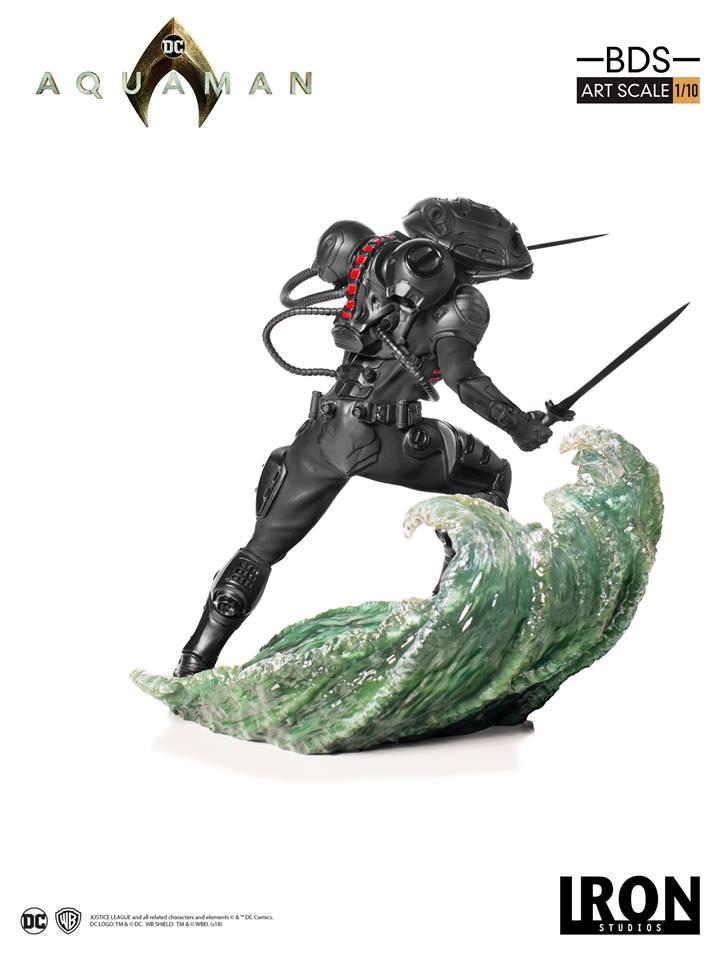 [Iron Studios] Aquaman -  Black Manta 1/10 40665410