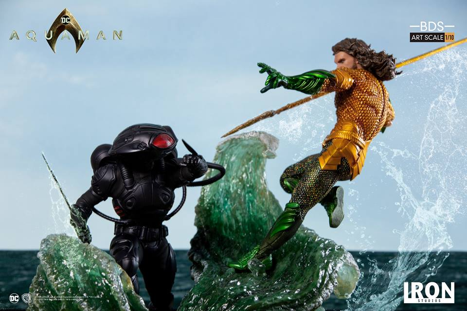 [Iron Studios] Aquaman -  Black Manta 1/10 40684211