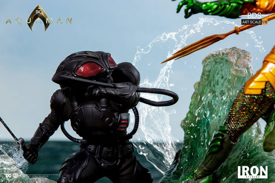 [Iron Studios] Aquaman -  Black Manta 1/10 40779010