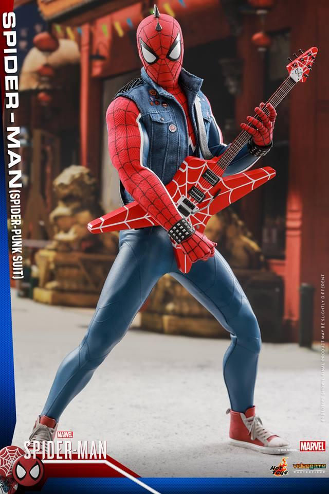 [Hot Toys] -Spider-Man Game- Spider-Punk Suit 1/6 41026110