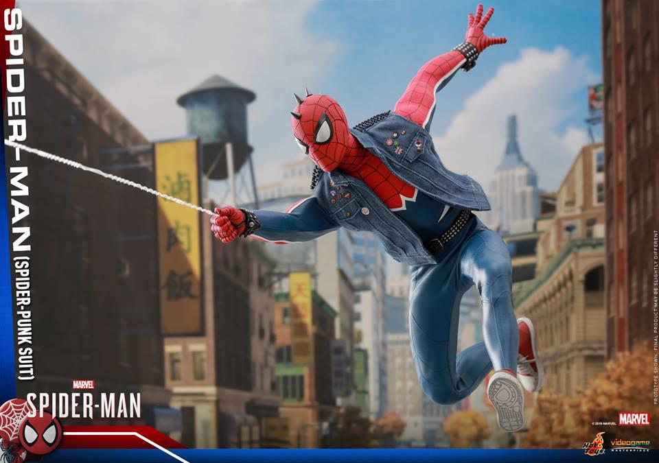[Hot Toys] -Spider-Man Game- Spider-Punk Suit 1/6 41040110