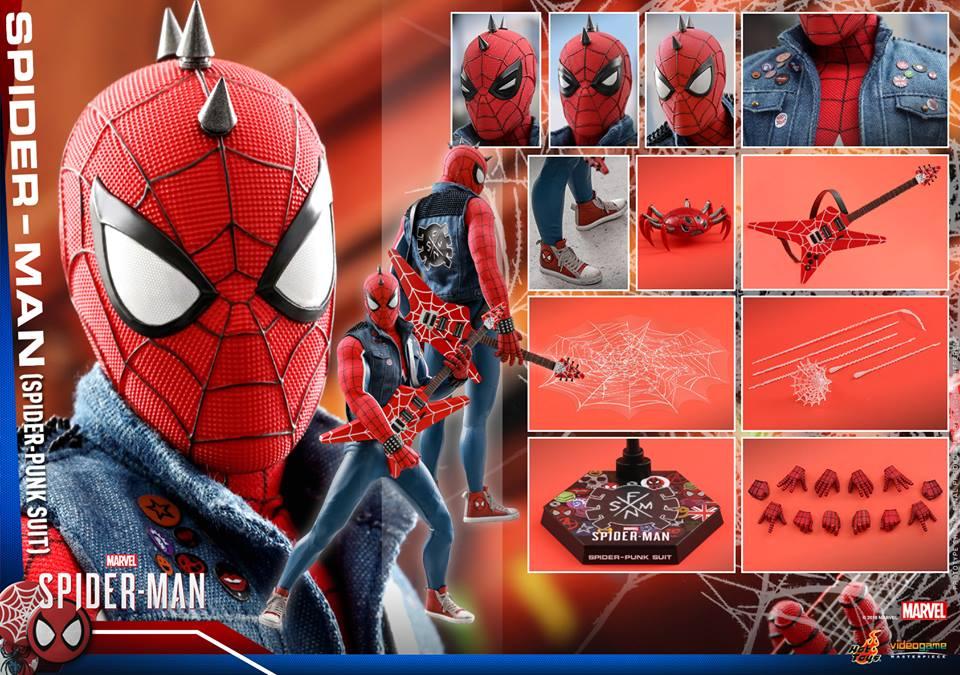 [Hot Toys] -Spider-Man Game- Spider-Punk Suit 1/6 41045710
