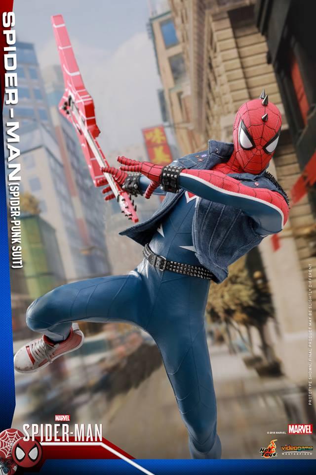 [Hot Toys] -Spider-Man Game- Spider-Punk Suit 1/6 41106010