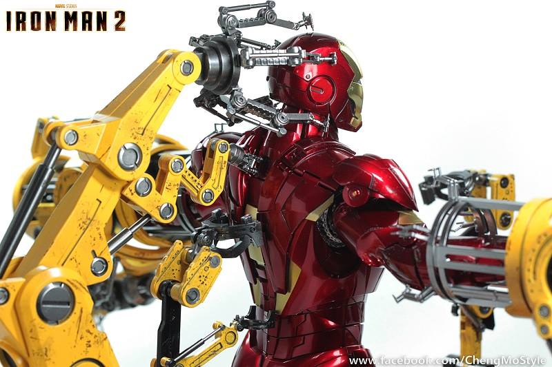 [Hot Toys] -Iron Man 2-Mark IV with Suit-Up Gantry 1/6 41117010