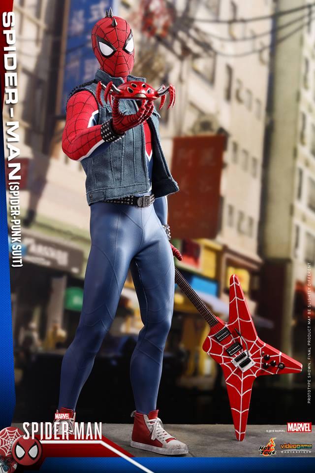 [Hot Toys] -Spider-Man Game- Spider-Punk Suit 1/6 41118210