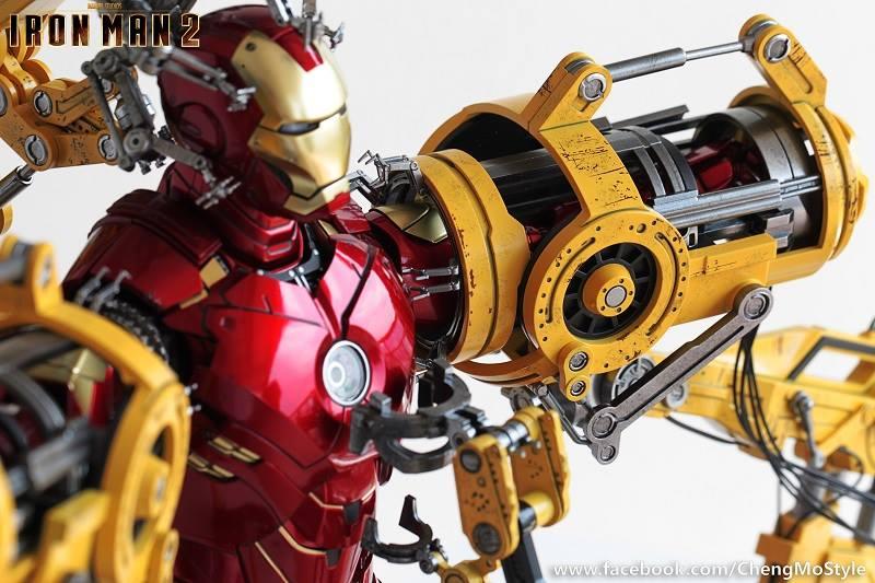 [Hot Toys] -Iron Man 2-Mark IV with Suit-Up Gantry 1/6 41124510