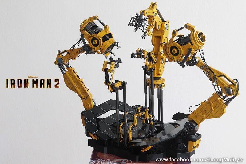 [Hot Toys] -Iron Man 2-Mark IV with Suit-Up Gantry 1/6 41135210