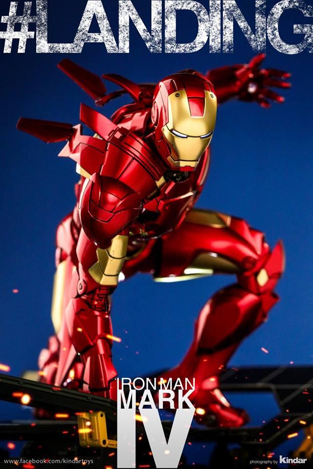 [Hot Toys] -Iron Man 2-Mark IV with Suit-Up Gantry 1/6 41192010
