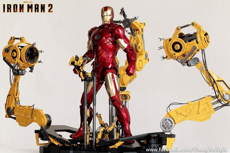 [Hot Toys] -Iron Man 2-Mark IV with Suit-Up Gantry 1/6 41202410