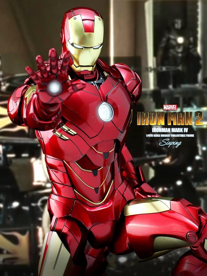 [Hot Toys] -Iron Man 2-Mark IV with Suit-Up Gantry 1/6 41203410