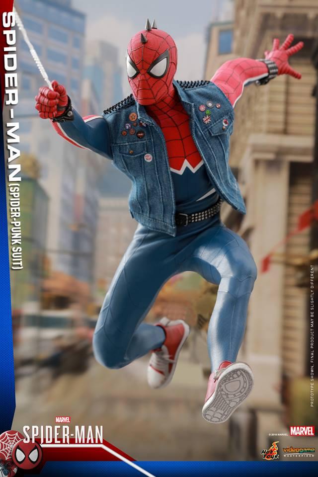 [Hot Toys] -Spider-Man Game- Spider-Punk Suit 1/6 41205810