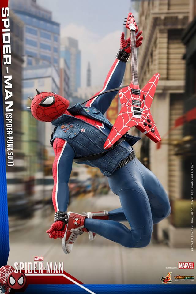 [Hot Toys] -Spider-Man Game- Spider-Punk Suit 1/6 41215811