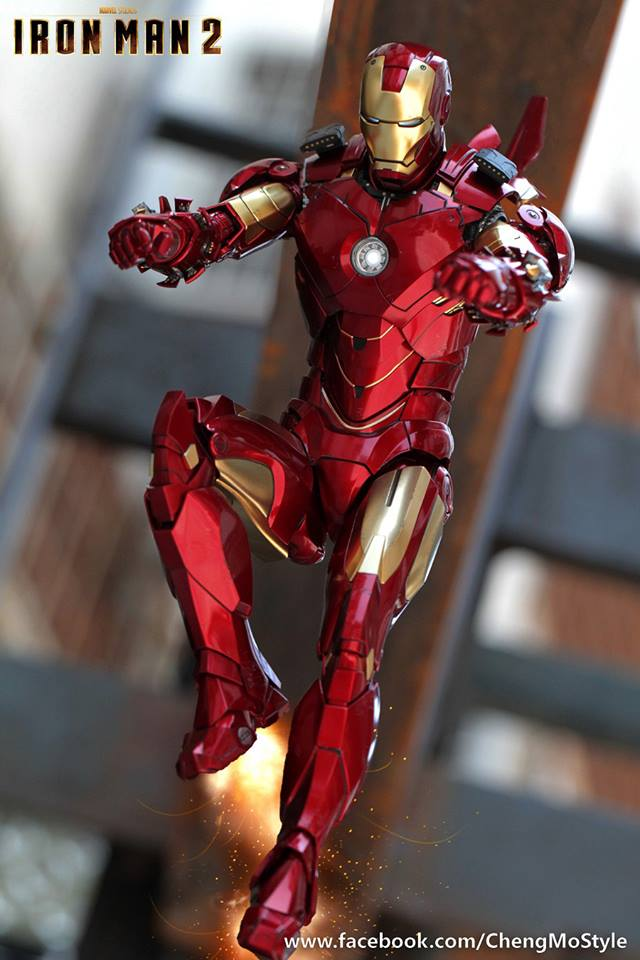 [Hot Toys] -Iron Man 2-Mark IV with Suit-Up Gantry 1/6 41221510