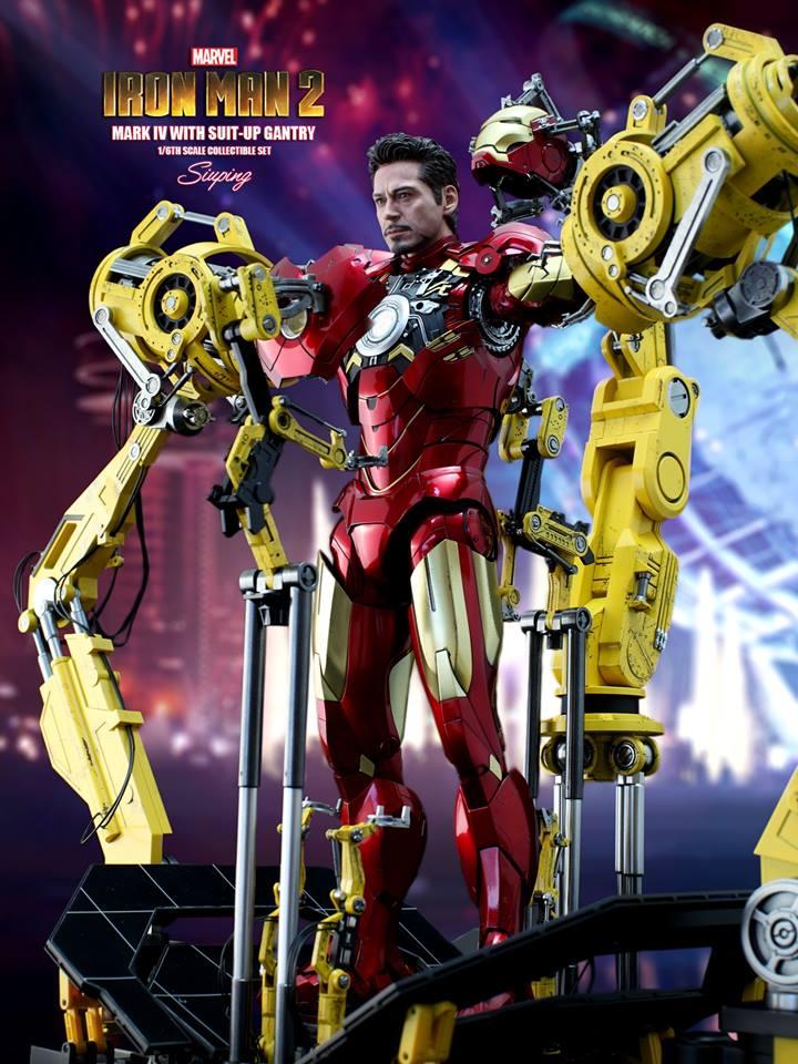 [Hot Toys] -Iron Man 2-Mark IV with Suit-Up Gantry 1/6 41244110
