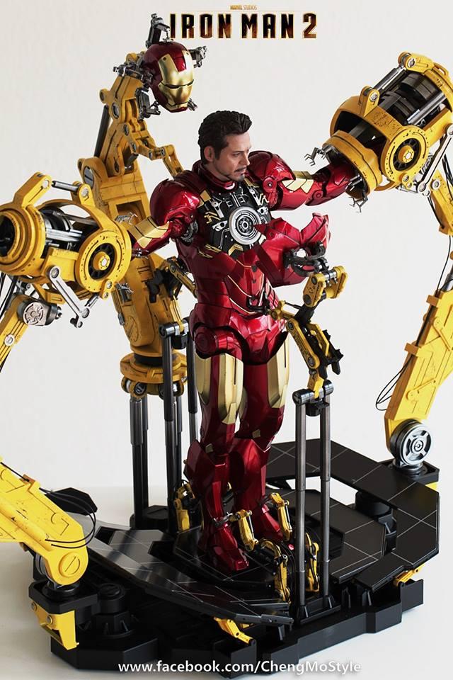 [Hot Toys] -Iron Man 2-Mark IV with Suit-Up Gantry 1/6 41271510
