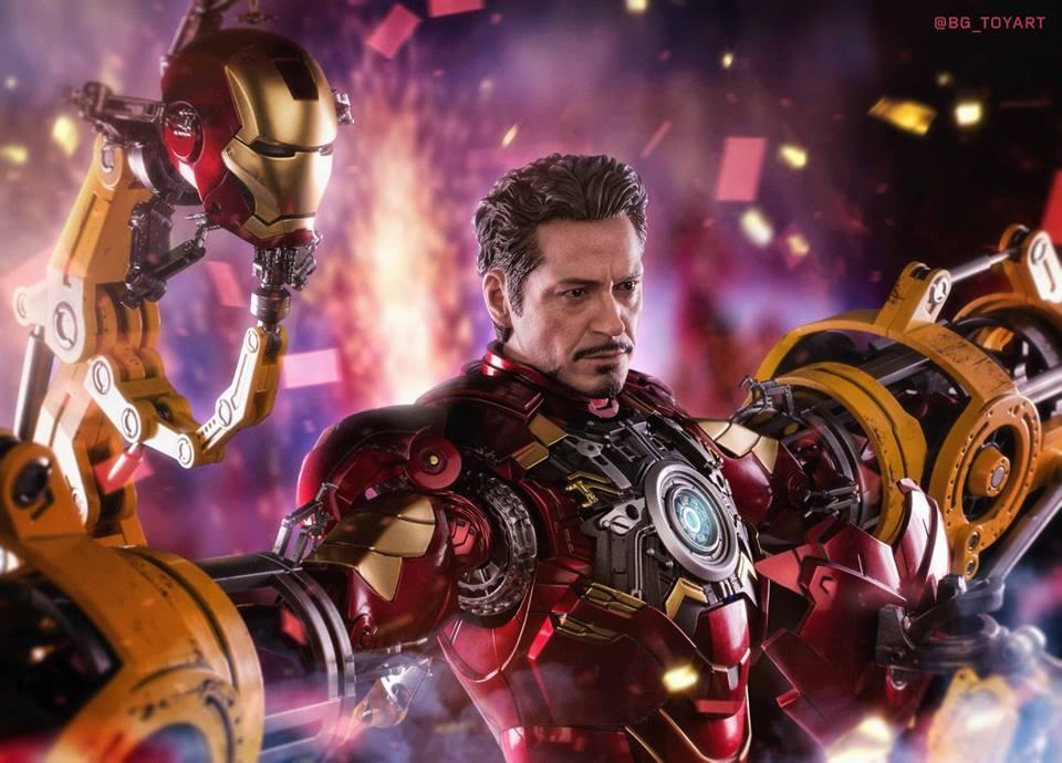 [Hot Toys] -Iron Man 2-Mark IV with Suit-Up Gantry 1/6 41286110
