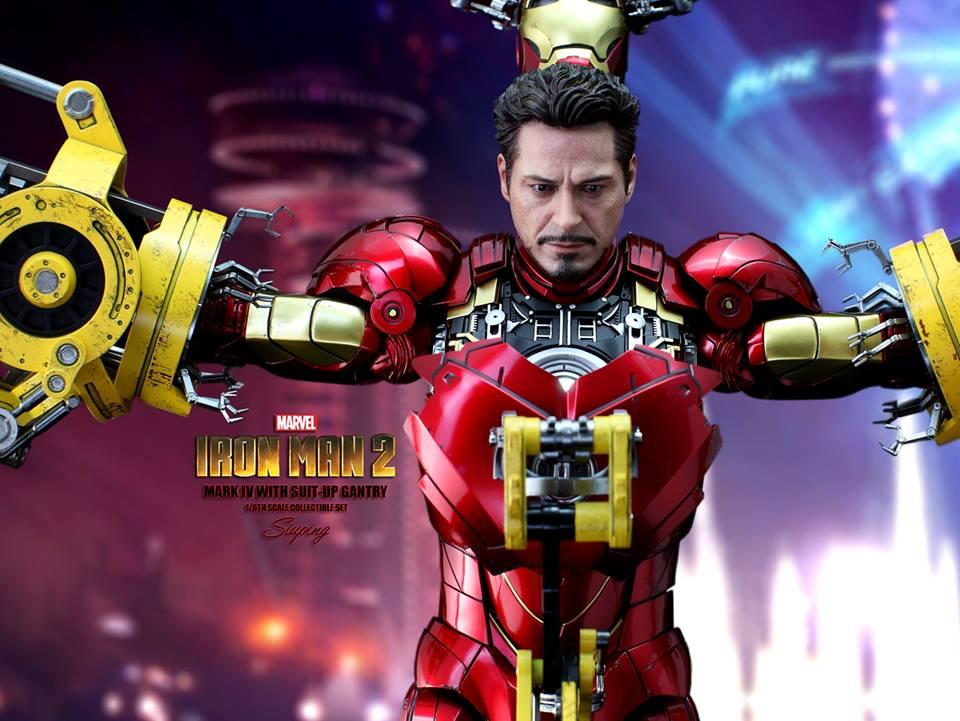 [Hot Toys] -Iron Man 2-Mark IV with Suit-Up Gantry 1/6 41301810