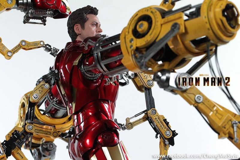 [Hot Toys] -Iron Man 2-Mark IV with Suit-Up Gantry 1/6 41324110