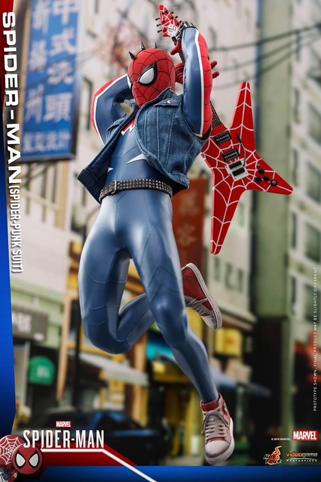 [Hot Toys] -Spider-Man Game- Spider-Punk Suit 1/6 41335310