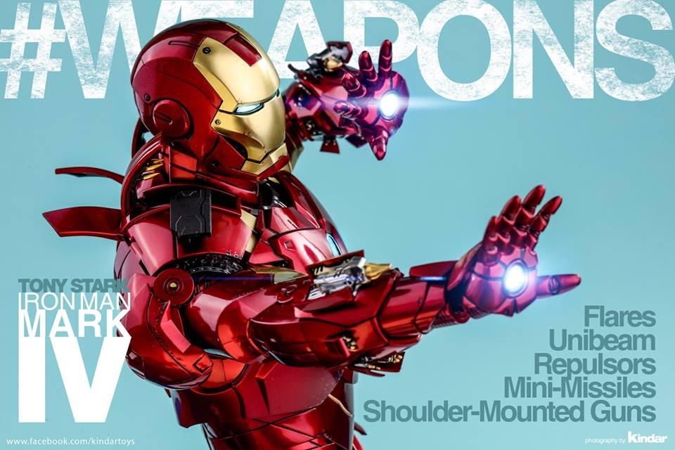 [Hot Toys] -Iron Man 2-Mark IV with Suit-Up Gantry 1/6 41335410