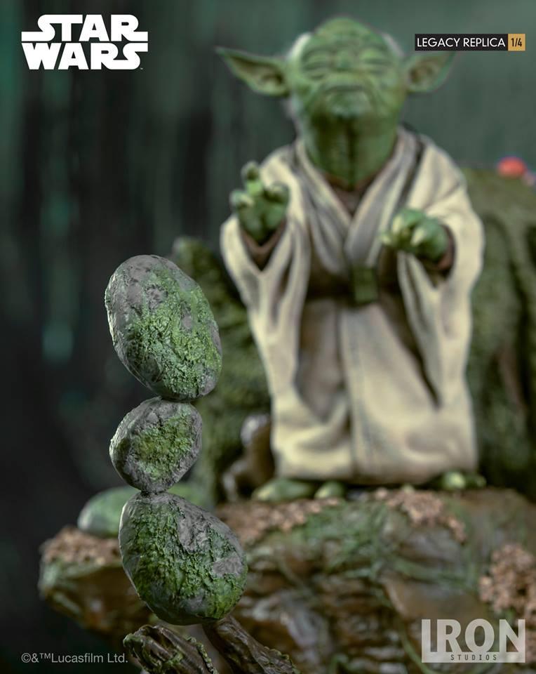 [Iron Studios] Star Wars Episode V- Yoda Legacy Replica 1/4  41699710