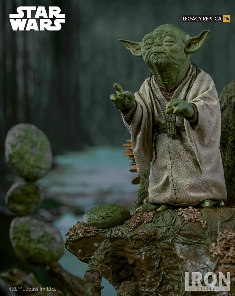 [Iron Studios] Star Wars Episode V- Yoda Legacy Replica 1/4  41699910