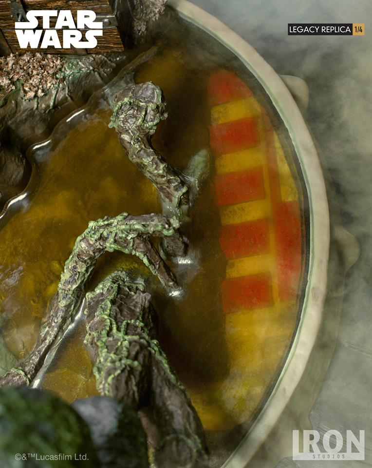 [Iron Studios] Star Wars Episode V- Yoda Legacy Replica 1/4  41701011