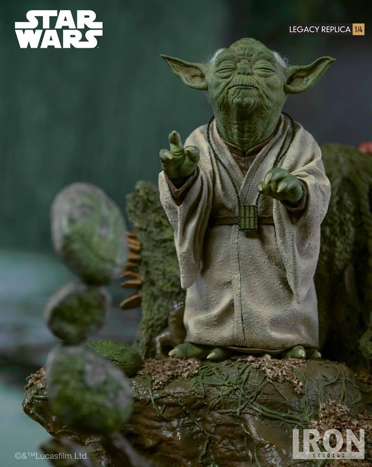 [Iron Studios] Star Wars Episode V- Yoda Legacy Replica 1/4  41705110