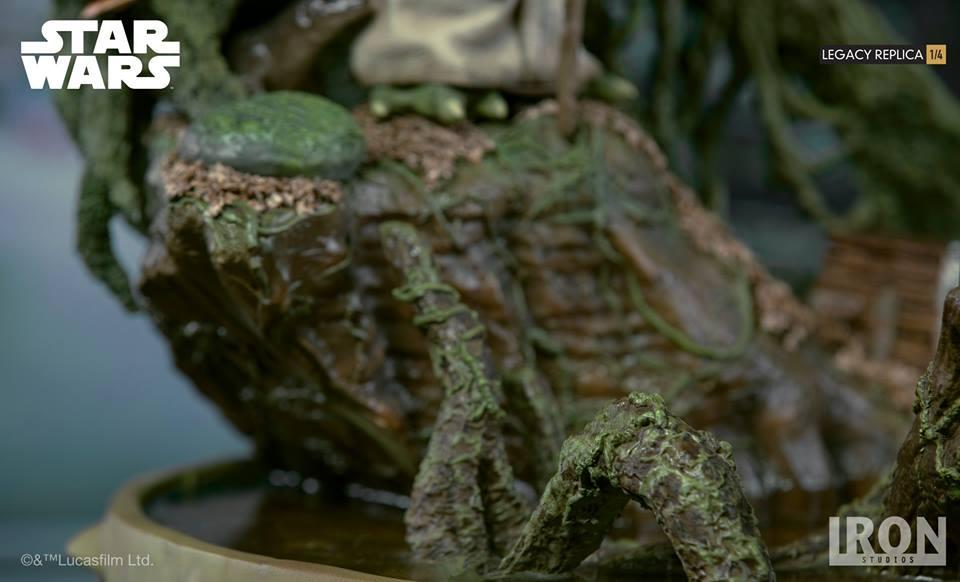 [Iron Studios] Star Wars Episode V- Yoda Legacy Replica 1/4  41711310