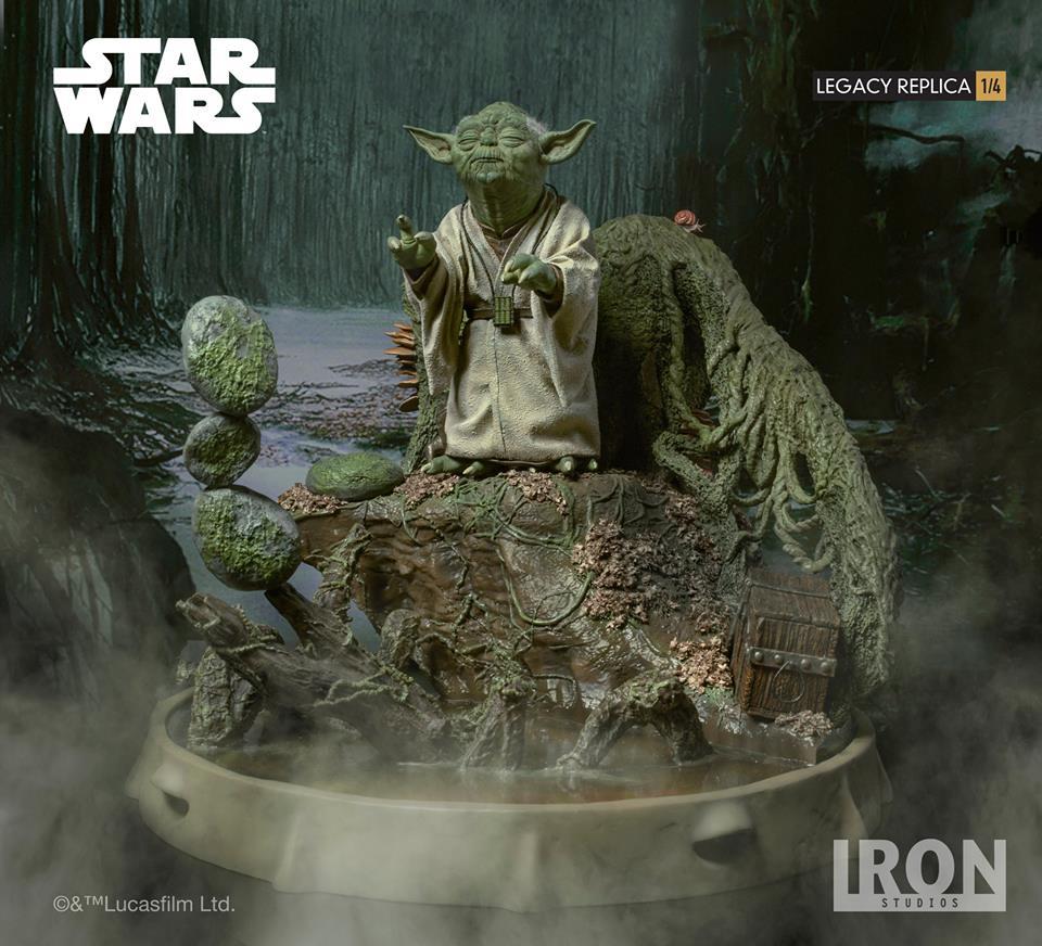 [Iron Studios] Star Wars Episode V- Yoda Legacy Replica 1/4  41719210