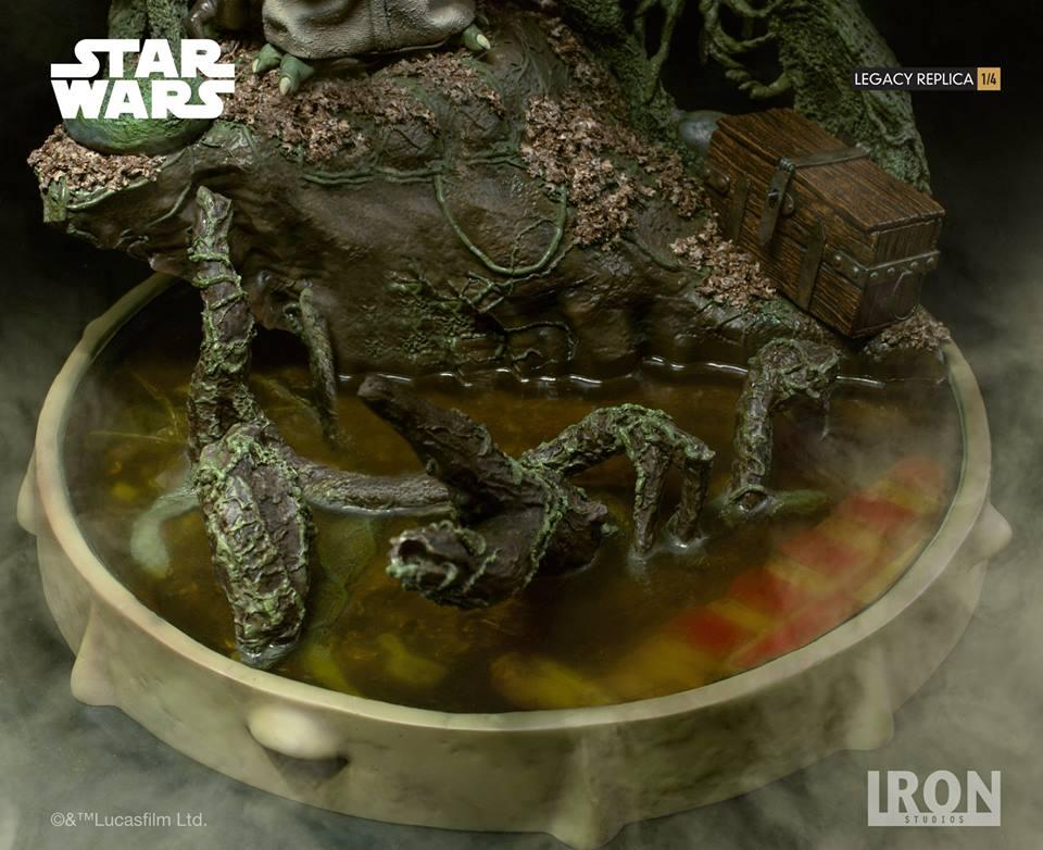 [Iron Studios] Star Wars Episode V- Yoda Legacy Replica 1/4  41719212