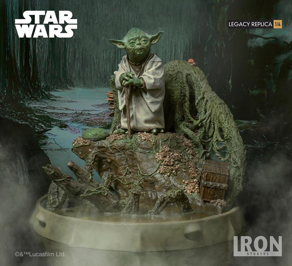 [Iron Studios] Star Wars Episode V- Yoda Legacy Replica 1/4  41723610