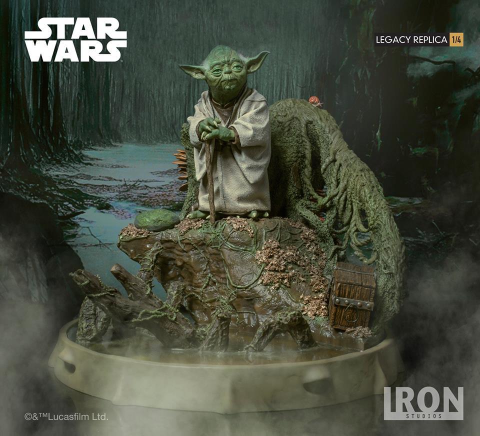 [Iron Studios] Star Wars Episode V- Yoda Legacy Replica 1/4  41723612