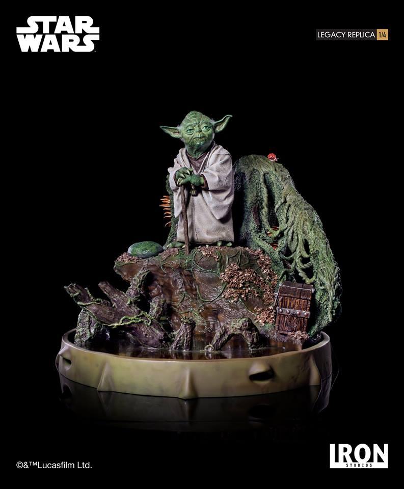 [Iron Studios] Star Wars Episode V- Yoda Legacy Replica 1/4  41741910