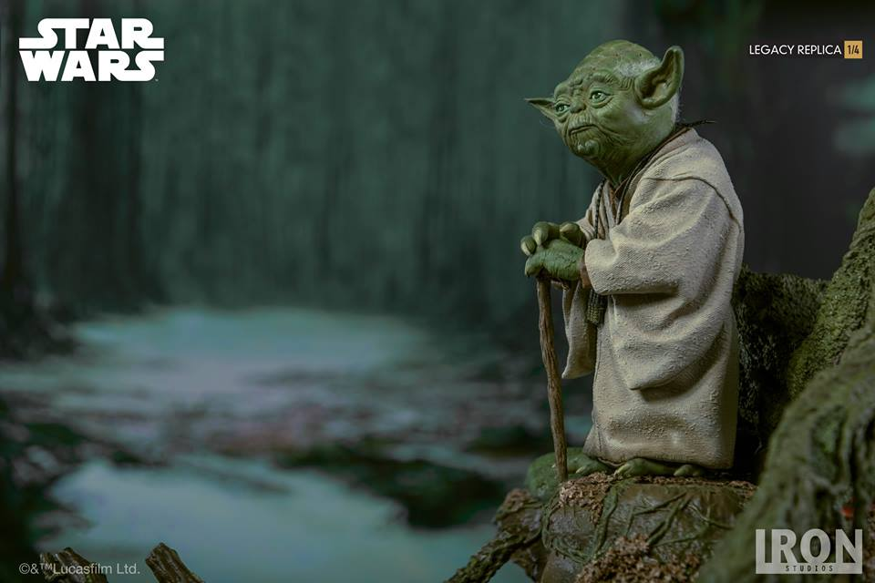 [Iron Studios] Star Wars Episode V- Yoda Legacy Replica 1/4  41758110