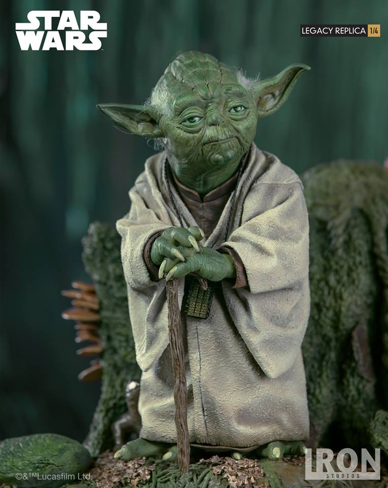 [Iron Studios] Star Wars Episode V- Yoda Legacy Replica 1/4  41764910