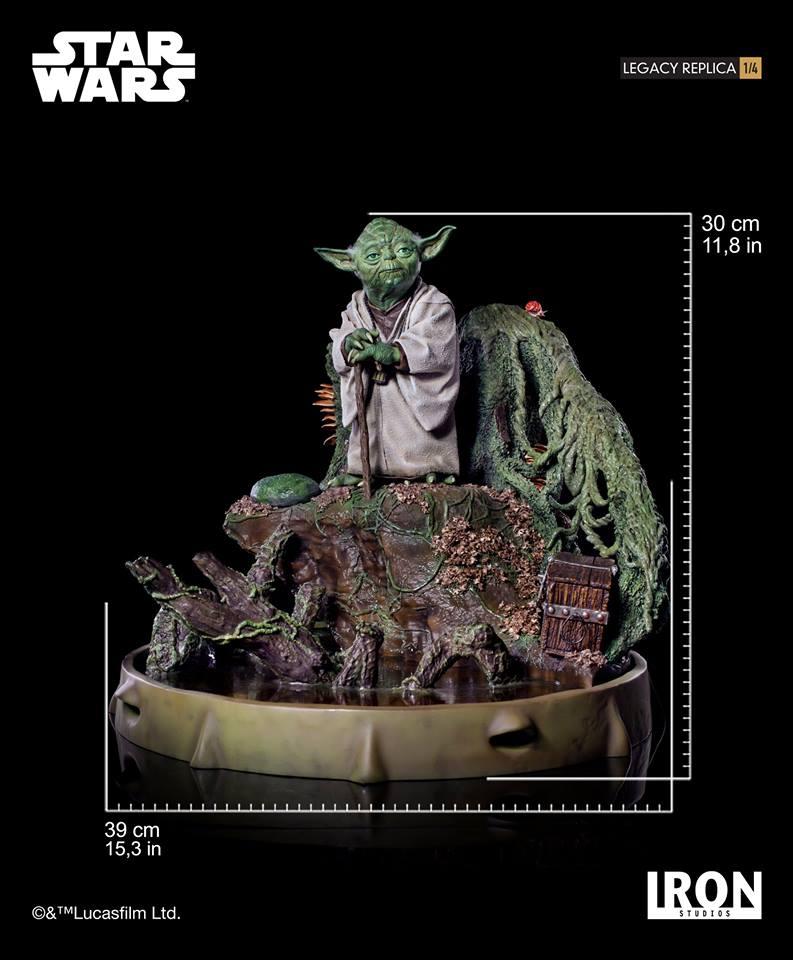 [Iron Studios] Star Wars Episode V- Yoda Legacy Replica 1/4  41772110