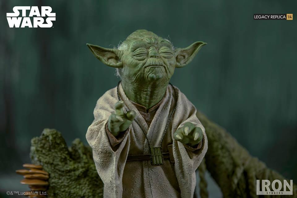 [Iron Studios] Star Wars Episode V- Yoda Legacy Replica 1/4  41774610